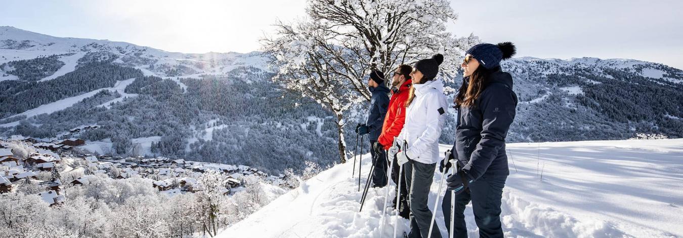 Les 3 Vallées sans les skis