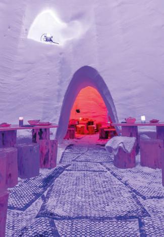 Val Thorens' Igloo Village