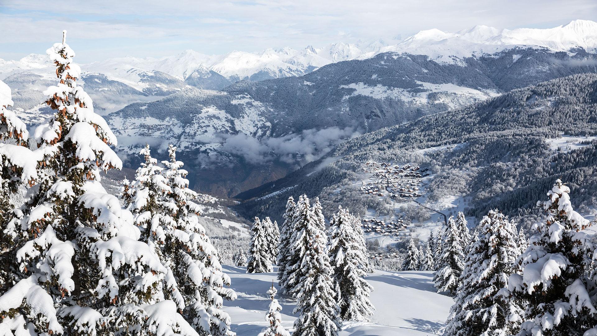 Easy 3 Vallées in January