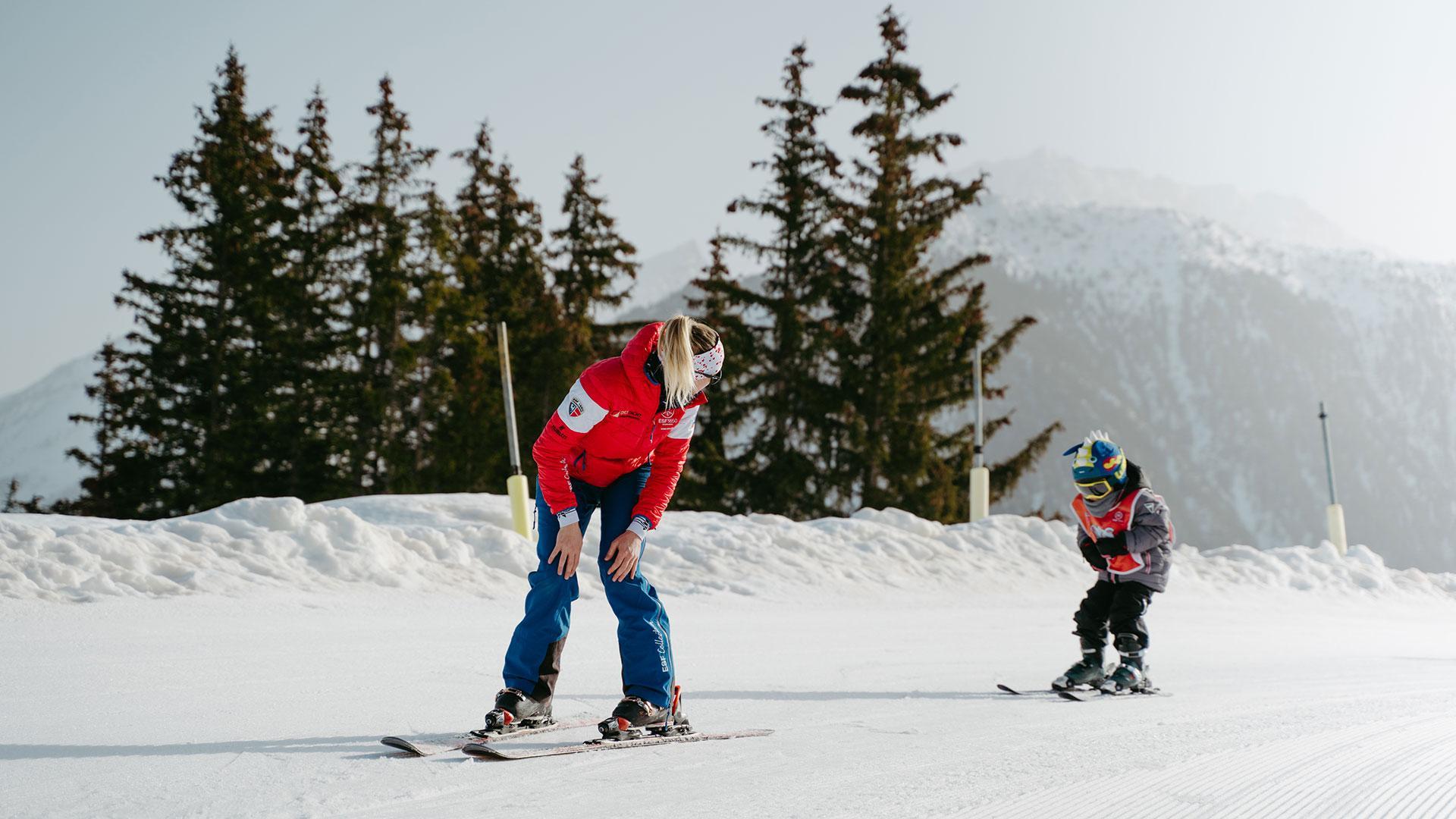 Cours de ski pour enfants & garderies