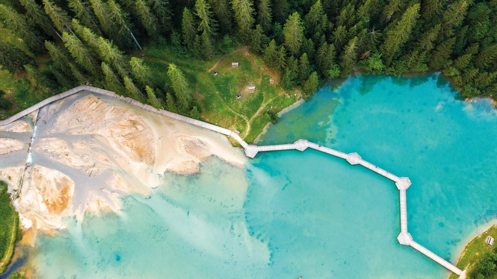 Lacs et plans d'eau 3 Vallées en famille
