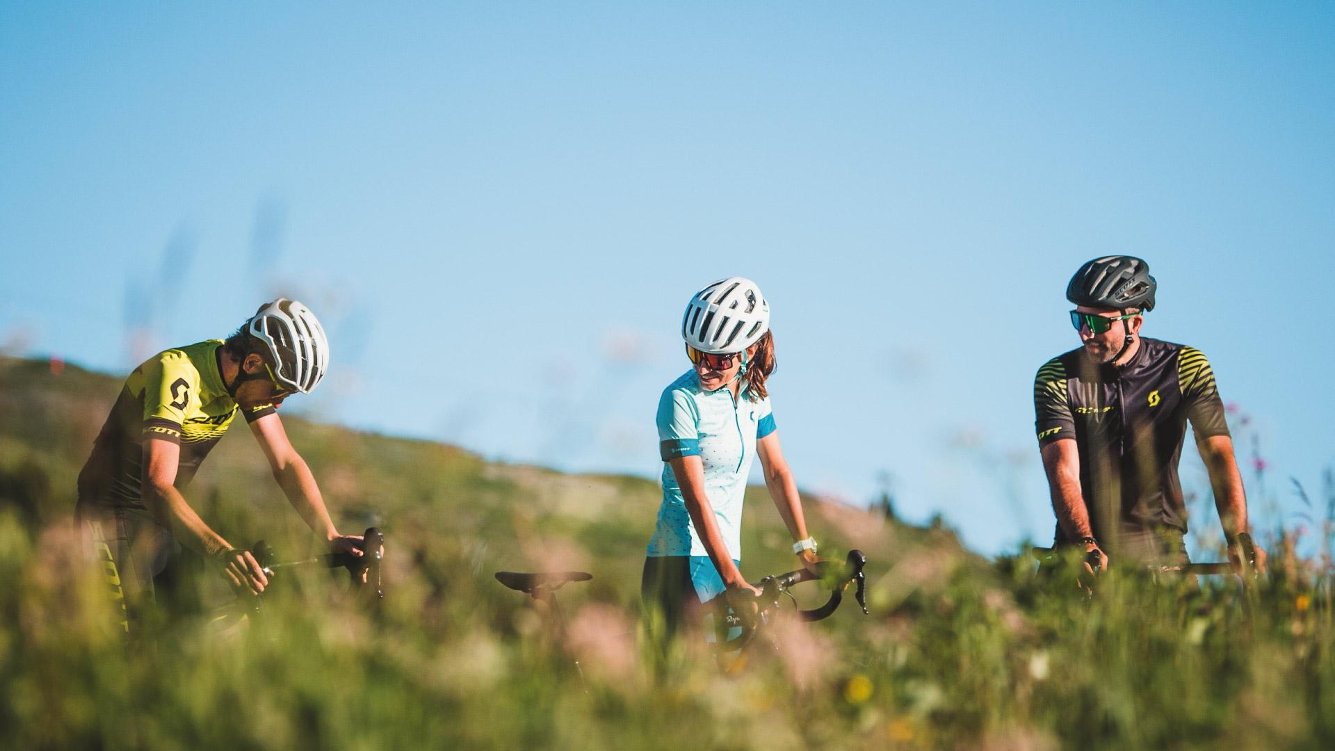Autour du Col de la Loze en vélo