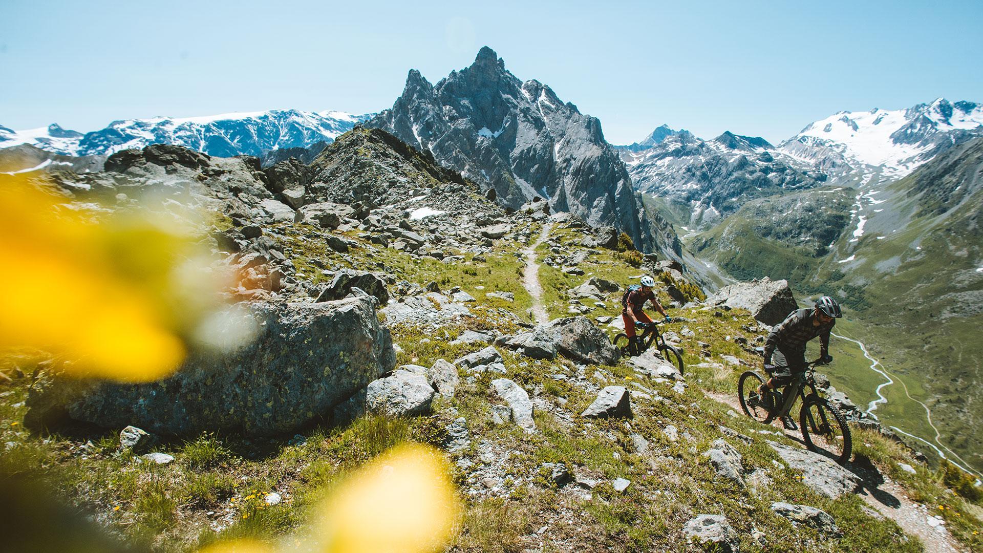 Les plus beaux parcours VTT 3 Vallées