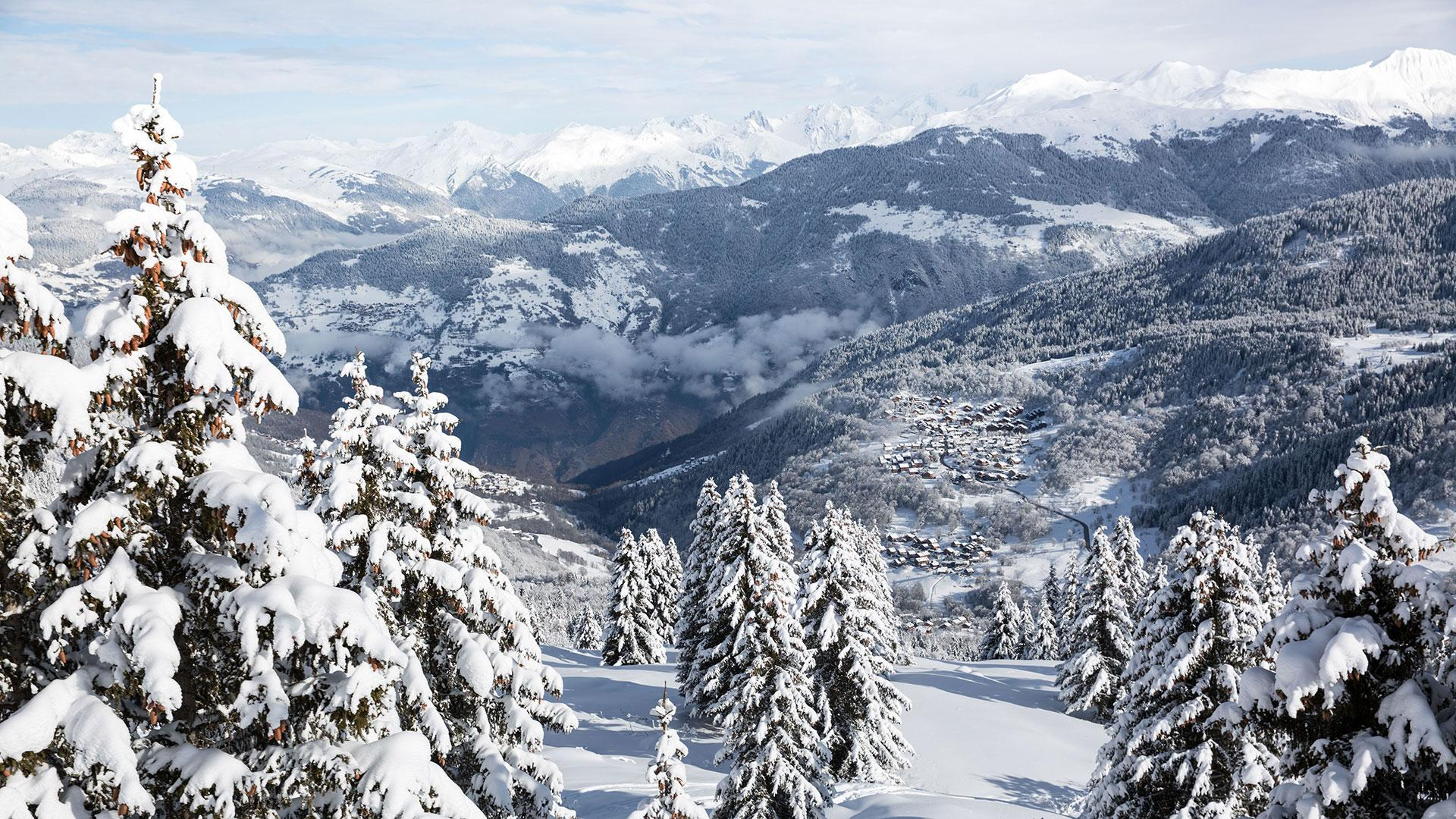 My bad weather ski day in Les 3 Vallées