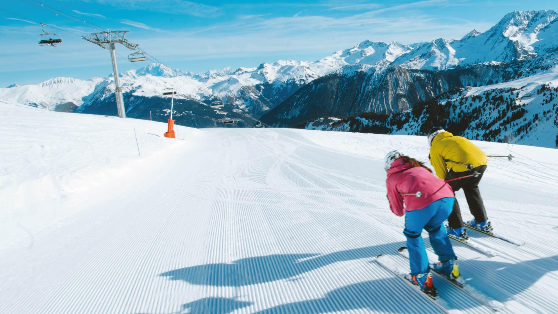 Up close with the 3 Vallées mountaintops