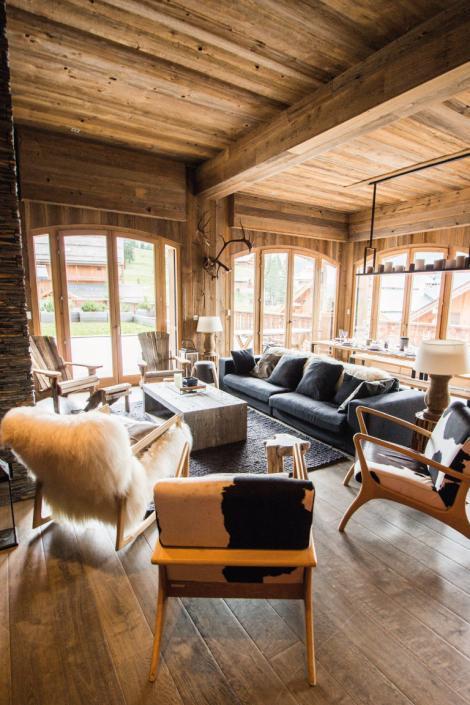 Aspen Lodge salon à Méribel