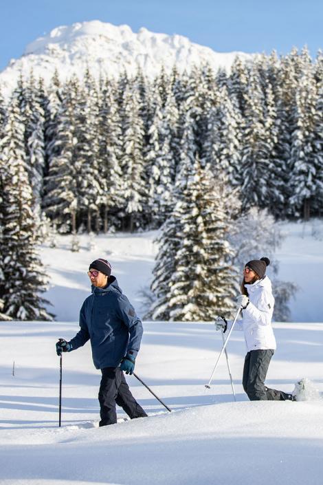 D'autres activités pour découvrir la montagne : raquettes et biathlon