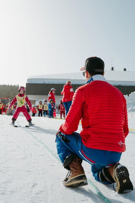 Cours de ski pour enfant dans les 3 Vallées