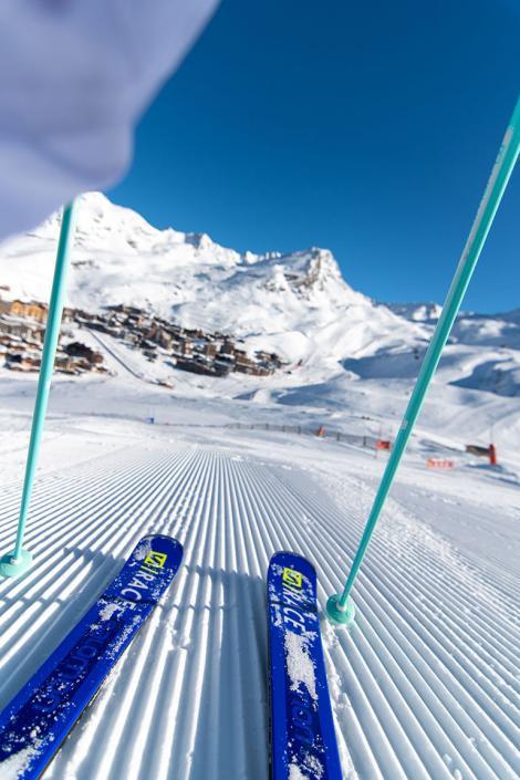 Val Thorens in Les 3 Vallées : the highest resort in Europe