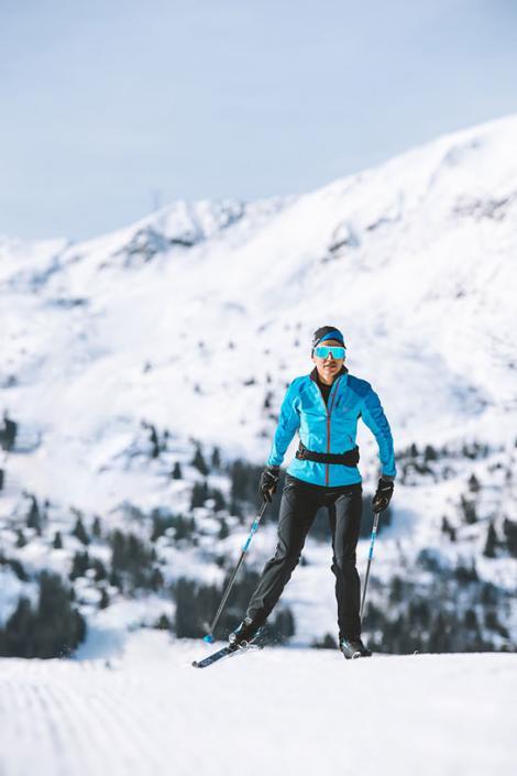 Ski de fond à Méribel dans Les 3 Vallées