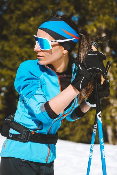 La forêt protégée de l'Altiport offre des conditions exceptionnelles pour le ski nordique à Méribel