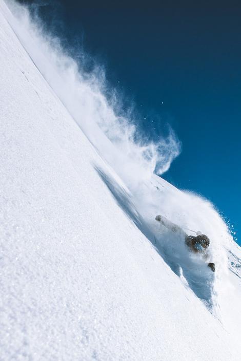 Ski freeride in Méribel