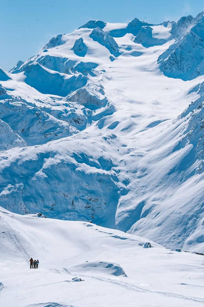 Ski freerando à Méribel au cœur des 3 Vallées