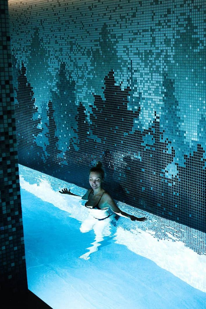 Spa in Ascension chalet in Courchevel