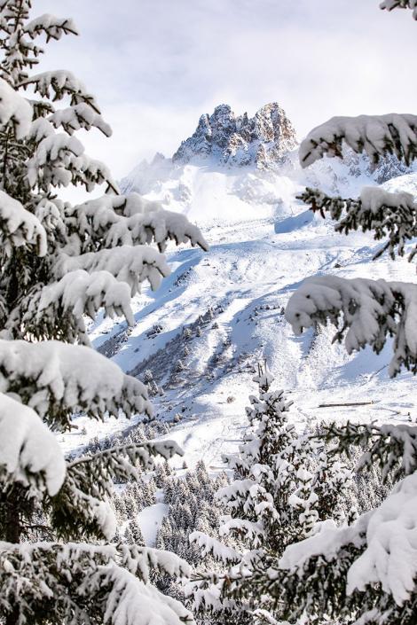 Ma journée de ski par mauvais temps