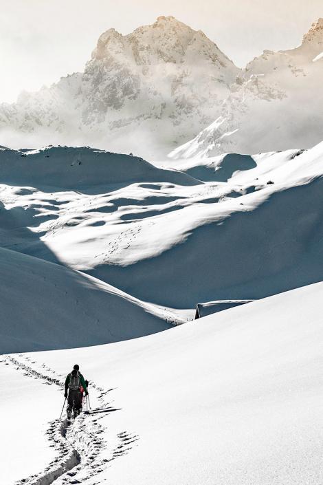 Ski de randonnée : 5 idées made in Les 3 Vallées